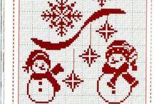 monochrome - karácsony