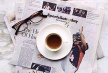 Kaffee mit NUMMER FÜNFZEHN / Kaffee - meine Lebensgrundlage. Einer direkt nach dem Aufstehen, noch ein Milchcafé zum Frühstück. Vielleicht nochmal am späten Vormittag ein Cappuccino und dann ein Espresso nach dem Mittagessen. Nachmittags ein Latte Macchiato und wenn es später wird und eine Nachtschicht ansteht nochmal ein doppelter Espresso nach dem Abendessen.