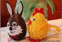 atryčok velikonoce / velikonoční výzdoba