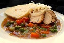 recepty / polévky, jednoduchá jídla, oběd, večeře
