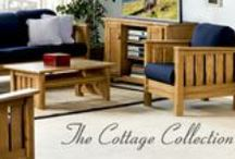 This End Up - Cottage Collection / The Cottage Collection features simple lines enhanced by rope molding. Available in your choice of four different wood stains - Marsh Grass, Driftwood, Espresso or Sea Oats. Create a fresh new look with our new Cottage Collection. Expertly crafted of quality materials for years of lasting beauty. Complements a wide range of home decor styles.   Furniture for your life!