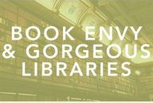 Book Envy // Beautiful Bookshops & Libraries Around the World / A collection of photos and guides to beautiful bookshops and libraries around the world that will give you a true case of book envy!  libraries, books, book porn, library, all the books