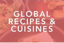 Global Recipes for the Gourmande // Total Foodie / A collection of global recipes for food lovers.  recipes, global eats, food lovers, food porn, homemade, recettes, food, let's eat, recipes from around the world, asian cuisine, korean food, chinese food, french cuisine