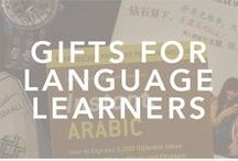 Gifts for the Language Learner or Adventurer / Every language learner or traveler's and adventurer's wishlist.  gifts for language learners, gifts for travelers, language learning, travel, travel tips, language hacking
