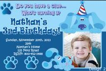Blue's Clues Birthday Invitations and Party Supplies / Blue's Clues, Blues Clues, Blues Clues Birthday Invitations, Blues clues birthday decorations, blues clues birthday decorations, blues clues party supplies, blues blues party, Blue's Clues Party, Blue's clues gift tags, blues clues candy bar wrappers, blues clues photo invitations, blues clues invitations, blue's clues invitation, Blue's Clues Birthday Invitations, Blue's clues digital Invitations