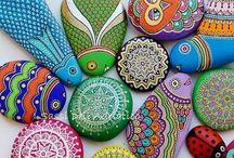 Сад и камни, мозаика.