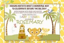 Simba Lion King Baby Shower Invitation and supplies / Simba Lion King, Simba Lion King Invitations, Simba Lion King baby shower supplies, simba lion king gift tags, simba lion king water bottle labels, simba lion king candy bar wrappers, simba baby shower, simba lion king party supplies, simba lion king invitations, simba lion king digital invitations