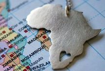 My heart belongs in Africa / The beauty that Africa holds in the wildlife, people, and scenery.