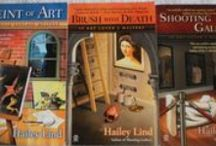 Art Lover's Mystery Series / This is the first book series I wrote with my sister.  We used the name Hailey Lind.