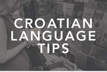 Let's Learn Croatian // Language Learning / Are you ready to govorite hrvatski? Here are a collection of Croatian and Serbian language resources to help get you started.  learn croatian, learn serbian, learn serbo-croatian, croatian language, croatian language resources, le croate, apprendre le croate, govorite hrvatski, language learning