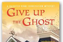 Haunted Home Renovations / Book reviews, sights from the book, haunted houses, Mel inspired clothing, Dog!