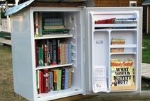 Little Free Libraries! / free little libraries: pics, how to, etc