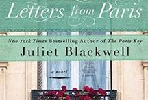 """Letters from Paris / Juliet Blackwell's novel release 9/6/16: After surviving an accident taking her mom's life, Claire Broussard escaped her Louisiana hometown. She returns and unearths a sculpture her great-grandfather sent after WWII. In Paris she finds the mask-making atelier that created the """"L'inconnue"""" (the Unknown Woman). She discovers letters about the life of the Belle Epoque woman immortalized in the mask. Claire uncovers the woman's tragic fate and begins to discover secrets and a new love of her own."""