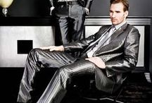 men's satin suits / glossy and glittering suits in all styles