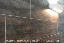 MARMO ROMANO + DIAMOND