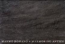 MARMO ROMANO + MARMORINO ANTICO