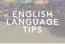 Let's Learn English // Language Learning Tips / Are you ready to speak English? Here are a collection of English language resources to help get you started.  learn english, english language, english language resources, l'anglais, apprendre l'anglais, parler anglais, language learning