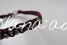 Wana'ao bracelets / Homemade bracelets Instagram account: @bracelets.wana.ao