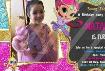 Party Decorations / Shimmer and Shine Birthday Party Ideas, Shimmer and Shine Candy Table, Shimmer and Shine Birthday Invitations, Shimmer and Shine Balloon Decorations, Shimmer and Shine Party Decorations, Shimmer and Shine Centerpieces, Shimmer and Shine Party Printables