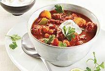 Food Nothing like a great bowl of chili or stew / Comfort and Winter come together