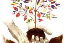 Institutions européennes et internationales / Les Nations Unies - L'OTAN - L'UNESCO - Le Parlement européen - L'Euro ou l'histoire de la monnaie - Huit façons de changer le monde, Objectifs du millénaire pour le développement - La Commission européenne - L'Agence spatiale européenne - La Constitution européenne