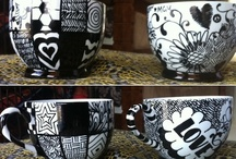Cup and Plate Art