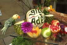 Chef's Special Touches / Chef Philipp & Chef Joko are highly skilled and very creative - take a look at their fantastic works of food art!