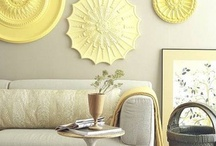 COLOR PLAY | yellow / You've got sunshine... Yellow color inspiration for the home. Interior Design, Home Decor, Home Inspiration, Home Ideas, Small Living and Apartment Living ~ by Jennifer Adams Brands #LoveComingHome