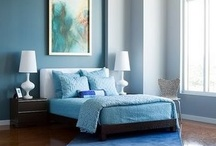COLOR PLAY | blue / Chill out... blue color inspiration for the home. Interior Design, Home Decor, Home Inspiration, Home Ideas, Small Living and Apartment Living ~ by Jennifer Adams Brands #LoveComingHome