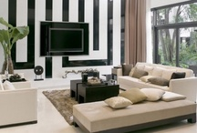 COLOR COMBO | b&w / Black and white classic combo color inspiration for the home. Interior Design, Home Decor, Home Inspiration, Home Ideas, Small Living and Apartment Living ~ by Jennifer Adams Brands #LoveComingHome