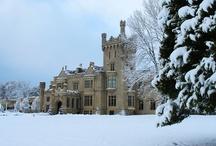 Winter at Lough Eske Castle