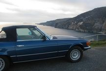 Classic Car Package / Enjoy #touring around #Donegal in a convertible #classic car when you stay at the #castle...