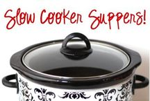 ❤️slow cooker / Crock pot: cause ain't nobody got time for that.