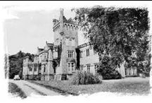 The Castle 1930s / Old photos of the castle during the time when it was a guest house in the 1920s and 1930s