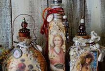 Bottle And Jar Art / by Brenda Roberson Swint