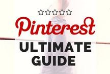 DIY Pinterest Tips / Collection of DIY Pinterest Tips for using Pinterest to generate traffic to your blog.