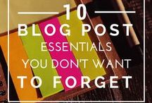 Blogging | Content Marketing / Tips for writing content and blog posts for your blog.