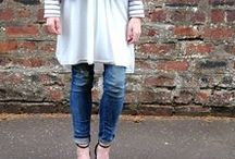 Closet - Dress Over Jeans/Pants / I don't care what anyone says - I love this look.