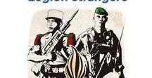 Légion étrangère / Créée en 1831, la Légion étrangère fascine l'imagination ; elle est l'unité d'élite par excellence. Elle accueille, sans distinction de nationalité, de race, ou de religion, les volontaires venant du monde entier. Leur devoir : servir la France au prix même de leur vie. La Légion étrangère pérennise depuis sa création un amalgame improbable entre une population unique au monde riche de sa diversité et un commandement formé dans les écoles de l'armée de terre française.