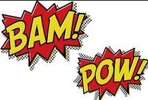 We Can Be Heroes / Superhero make-believe, creative stuff to do and more.