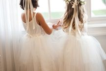 Flower Girl Ideas / Bringing ideas together for my flower girls' look.