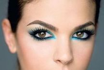 Trends - bright/coloured eyeliner / Add a pop of colour to refresh your look