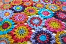 CROCHET / Crochet, Crochet Patterns, Crochet Inspiration, Crochet Tips and Tutorials, Colour, Design, Craft