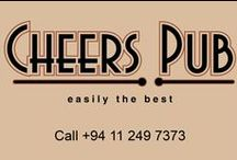 Cheers Pub, Cinnamon Grand Colombo / A typically British style pub, Cheers Pub is the best place in Colombo for pub grub or catching some sporting action on a big screen while enjoying a drink with friends. Leisurely Sundays are best spent at this cosy hangout, feasting on roasts and other delectable at the Sunday Carvery buffet.   Located on the Ground Floor of the Courtyard Wing, the restaurant is open from 11 a.m. to 12 midnight