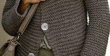 KNITWEAR - WOMEN / Autumn Winter Fashion, A/W Fashion, Handknit Womens Sweaters, Scarves, Hats, Gloves, Winter Style, Winter Clothing, Knitwear, Street Style, Womens A/W Fashion, Cold Weather Clothing, Fashion Design, Winter Woolens, Handmade Knitwear