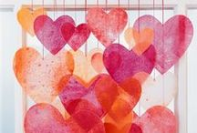 Valentine's Day / Activities and crafts to celebrate loved ones!