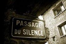 Silence / Absolute silence