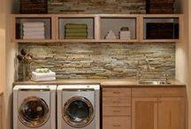 LAUNDRY / Laundry rooms, laundry area, laundry storage, home, home decor, decoration, interior decoration, house