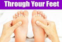 reflexology,massage stretching & pressure points