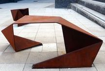 Urban Furniture: DVC Level 2 Graphics / Inspiration for NCEA Level 2 DVC Graphics outdoor seating / public structure